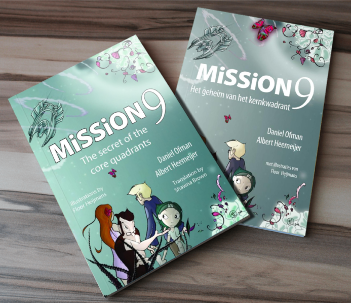 Original Mission 9 Dutch book beside the new English translation